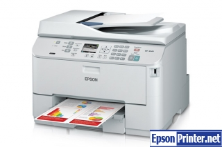 How to reset Epson WorkForce WP-4520 printer