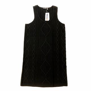 Magaschoni NEW Black Wool Dress