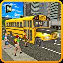 School Bus Coach Simulator 3D icon