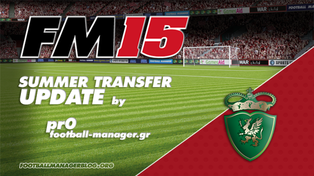 Summer Transfer Update Football Manager 2015 pr0