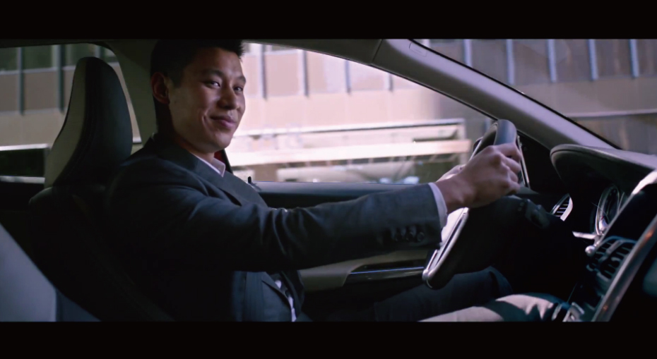 *Volvo 與林書豪的廣告開播:Jeremy Lin and the XC60 2