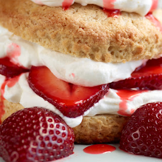 Strawberry Shortcake with Orange Whipped Cream Recipe