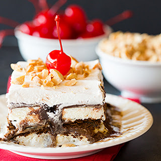 Ice Cream Sandwich Sundae Icebox Cake