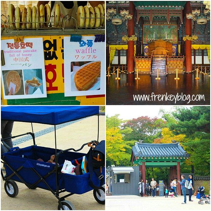 Pancake Honey, Isi Dalam Istana Changdeokgung, Kereta Dorong Bayi yang Unik, Gerbang ke Istand Changgyeonggung