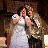Jimmy Cupp and Paul Dedrick in LEADING LADIES - October 2011.  Property of The Schenectady Civic Players Theater Archive.