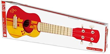 Sản phẩm Đàn Ghita màu đỏ Hape E0316 Ukulele, Red