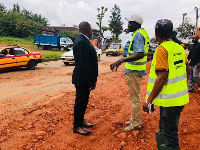 Bamenda II Council intensify road maintenance works.