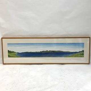 Panoramic Landscape Watercolor