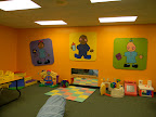 This is Nursery 2.  This room is for infants who can crawl or are beginning to walk.