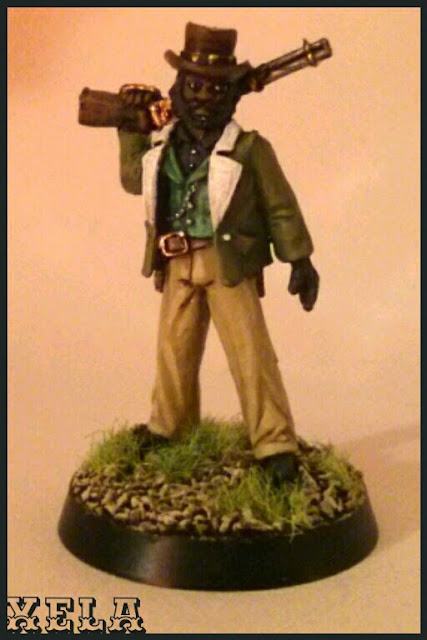 Ely Fergus pintado por Xela