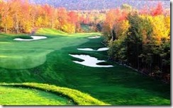 Golf course Fall