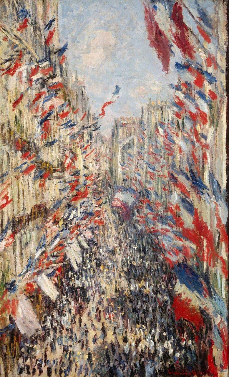 モネlog: 「サン=ドニ街、1878年6月30日の祝日」