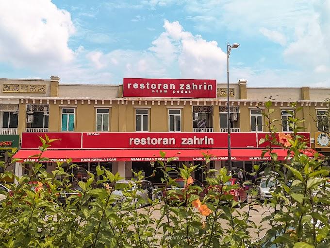 Restoran Zahrin Asam Pedas Di MITC, Melaka