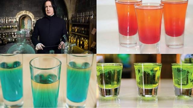 HB Receitas: Bebidas Alcoólicas do mundo mágico