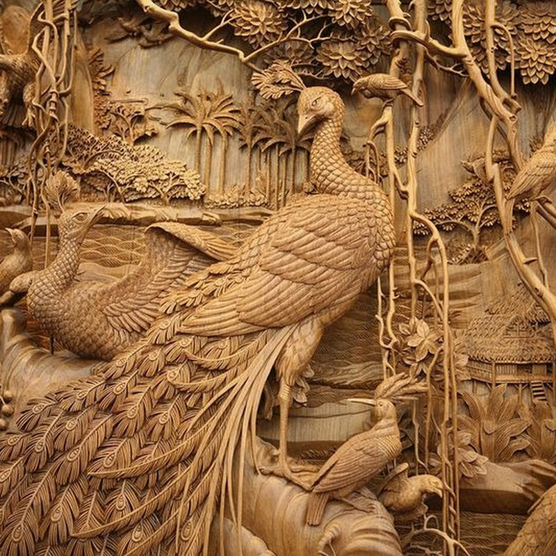 The Elegant Woodcarvings of Dongyang
