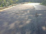 Baru Selesai Beberapa Hari dikerjakan Pemeliharaan Jalan Saketi - Malingping Sudah Rusak Kembali