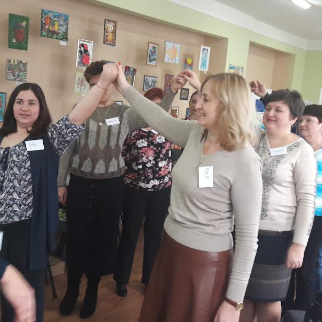 10.11.2017 Освітяни Волноваського району «вчилися жити разом»