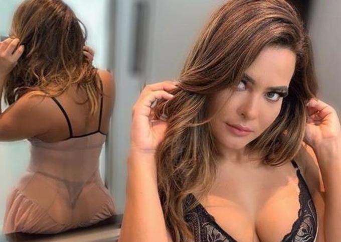Geyse Arruda posta foto ousada usando lingerie transparente, confira!
