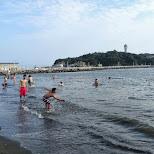enoshima beach in japan in Fujisawa, Kanagawa, Japan