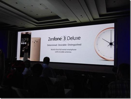 Asus Zenfone 3 Deluxe ZS570KL Dirilis, Andalkan Snapdragon 820 & RAM 6GB