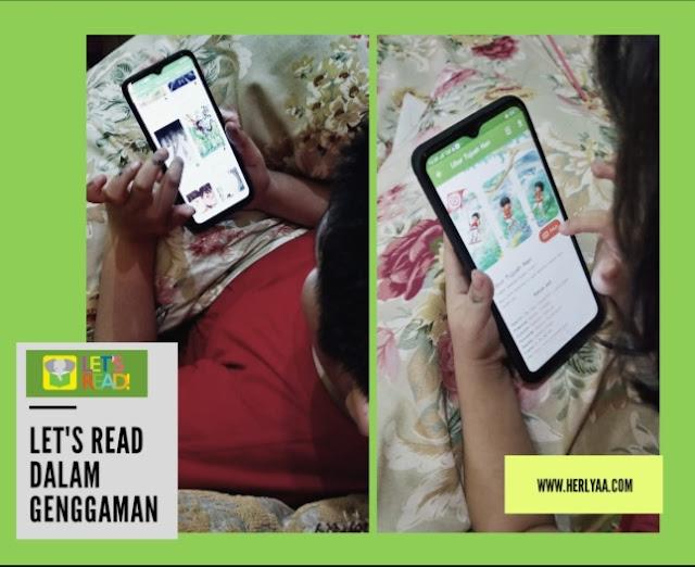Let's Read budaya membaca dalam genggaman