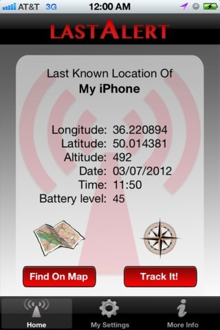 Locate iPhone iPad when battery die