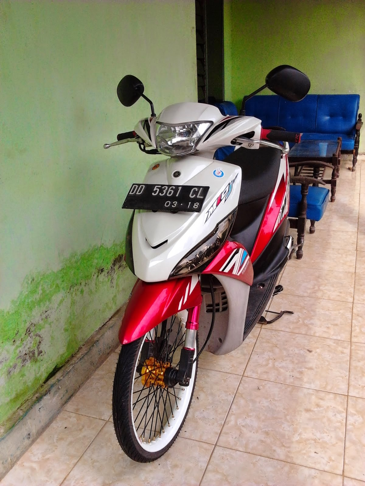 Modifikasi Motor Mio J 2013 Pecinta Modifikasi