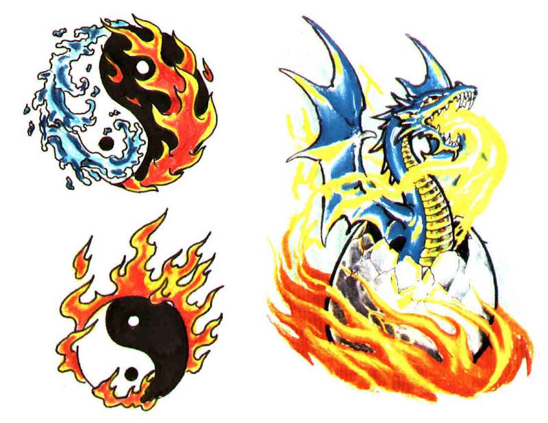 Design Of Mysterious Tattoo 2, Fantasy Tattoo Designs