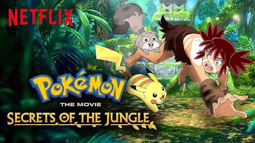 Pokémon Movie 23: Secrets of the Jungle (2021) Dual Audio [Hindi DDP5.1-Eng DD5.1] 480p, 720p & 1080p HD | 10bit HEVC MSubs