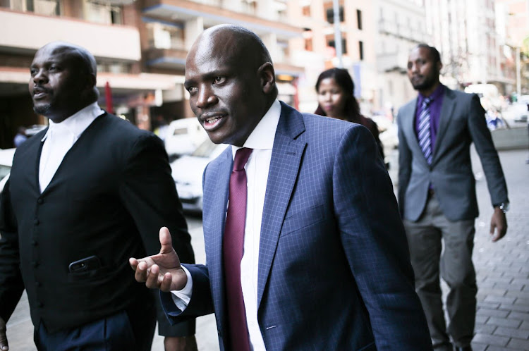 Former SABC COO Hlaudi Motsoeneng was fired after a disciplinary committee found he had violated the state broadcaster's code of conduct