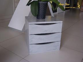 Meuble tiroirs - Stucco