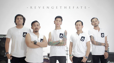 Revenge The Fate Resmikan Rilis Single Lagu Terbaru Revenge The Fate - Bencana 22 Februari 2017