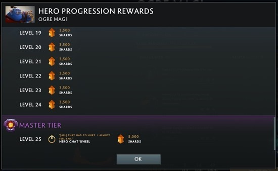 Hero Progress Rewards 2