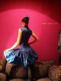 – šaty modré padáky