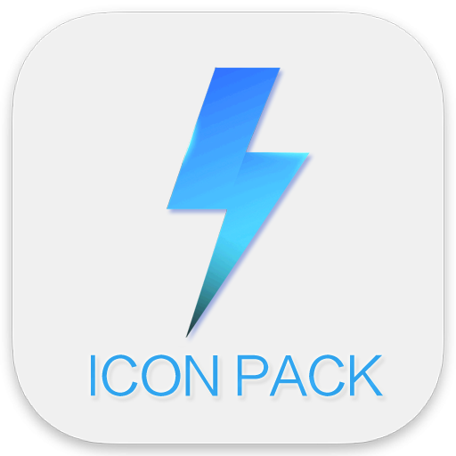 Miui 9 icon pack - Lighting flash Pro