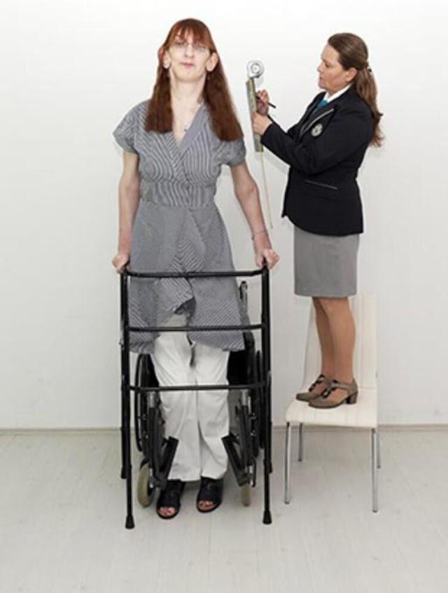 Dünyanın en uzun boylu kadını kimdir?