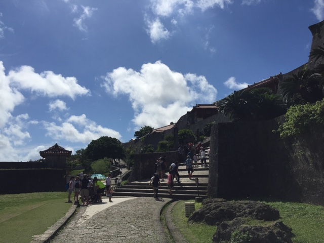 Shuri Castle in Okinawa is a must visit, especially on a sunny day!