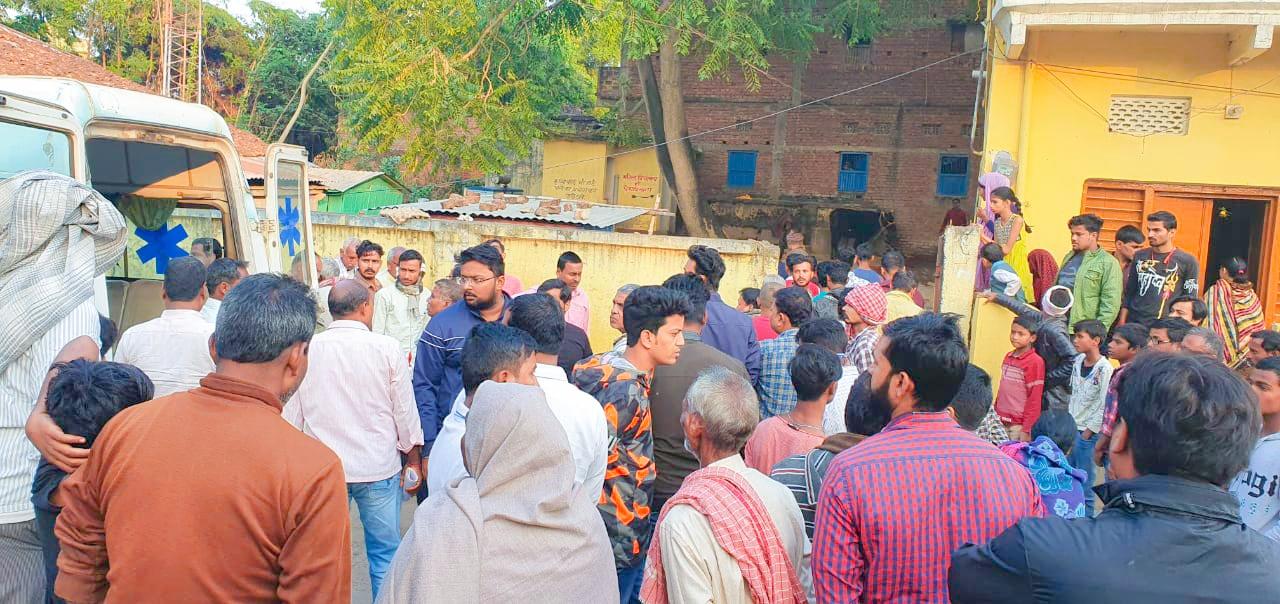 दुर्घटना: नीलगाय की टक्कर से चाचा की मौत व भतीजा जख्मी, पिरो- विहिया स्टेट हाईवे पथ पर हुआ हादसा