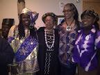 Momma Sandi,C Frink Reed, Denise Valentine, TAHIRA @ Philadelphia Folklore Project - photo by Denise Valentine