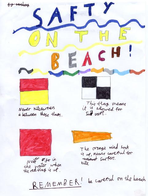 Sea safety poster - Zachery