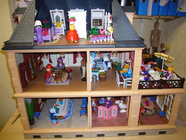 Foro de casas de mu ecas y miniaturas ver tema casa victoriana playmobil - Playmobil casa de munecas carrefour ...