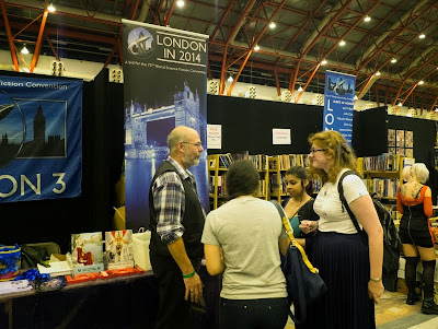 LonCon stand at London Film and Comic Con