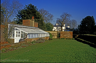 Photo: Charles Darwin's greenhouse at Down House, Downe, Kent. Copyright George Beccaloni