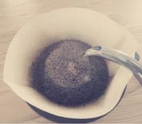 コーヒー泡立ち