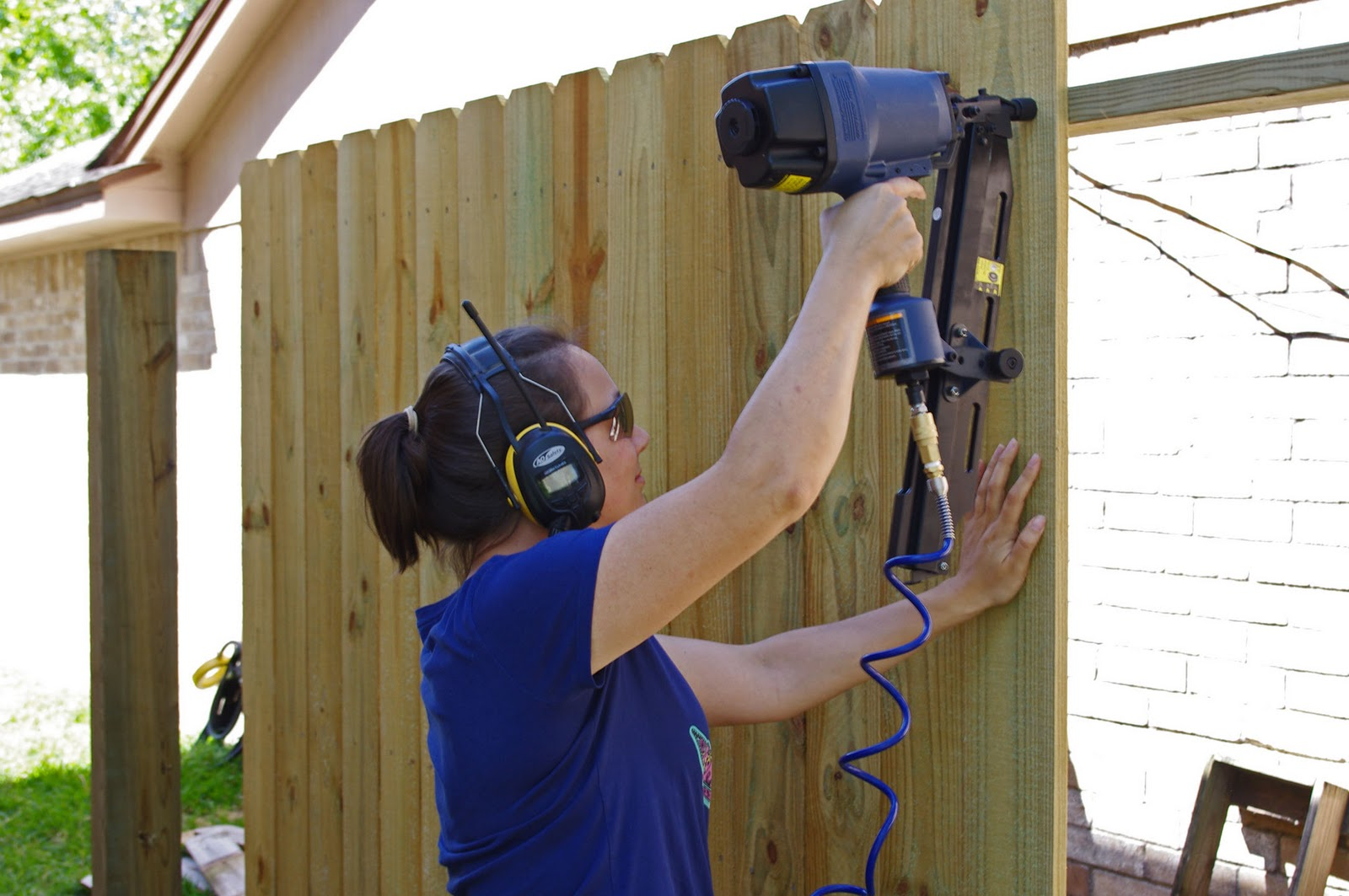 Image result for fencing nail guns