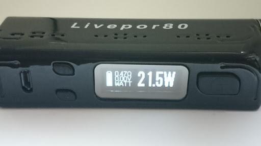 DSC 2572 thumb%25255B2%25255D - 【MOD】「Yosta Livepor 80 VTC」「Yosta Livepor 160 BOX」同時比較レビュー!超軽量デュアルMODとシングルバッテリーMOD