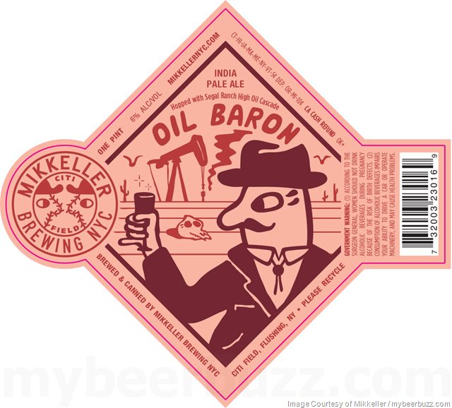 Mikkeller NYC Adding Oil Baron IPA