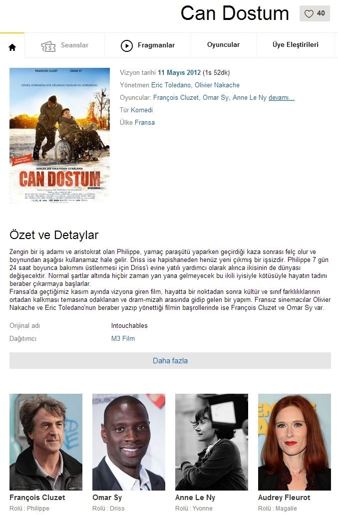 Can Dostum - 2011 BRRip XviD - Türkçe Dublaj Tek Link indir