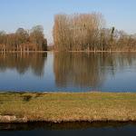 Abbaye de Royaumont : étang