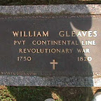 William Gleaves The Gleaves Family Cemetery Cripple Creek,  Wythe Co. Virginia